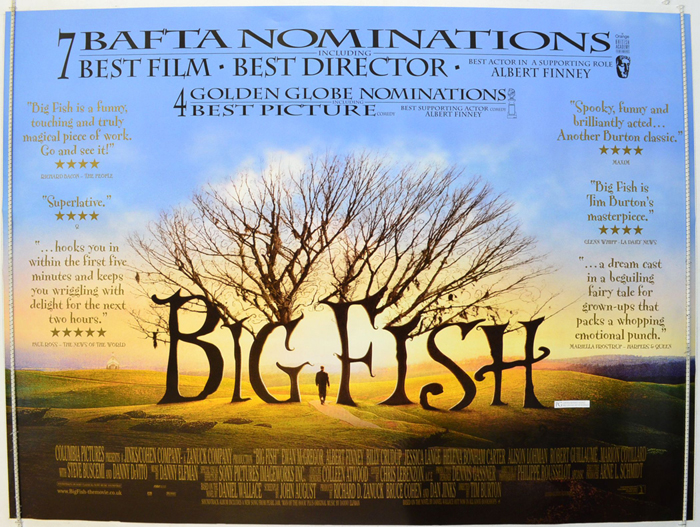 big fish cinema quad movie poster quotes 1